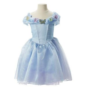 Disney Cinderella Butterfly 🦋 Dress Costume 4-6x